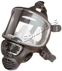 Celoobličejová maska Scott Promask Black